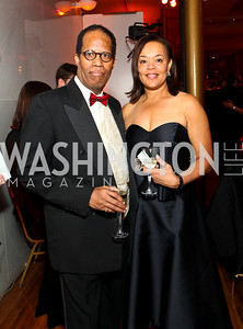 Greggory Spence and Martina Bradford. Alvin Ailey Gala. The Kennedy Center. February 2, 2010. photos by Tony Powell