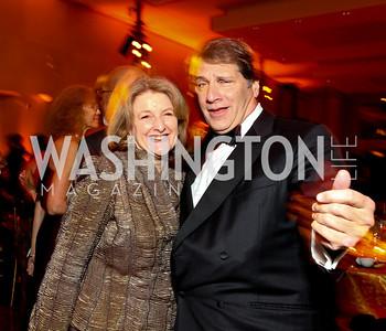 Judy and Peter Kovler. Alvin Ailey Gala. The Kennedy Center. February 2, 2010. photos by Tony Powell