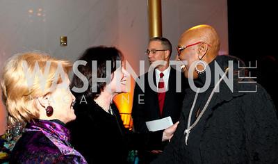 Polly Kraft, Elizabeth Stevens, Judith Jamison. Alvin Ailey Gala. The Kennedy Center. February 2, 2010. photos by Tony Powell