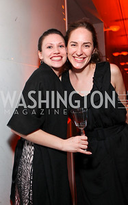 Rebecca Sivy and Ariel Metzger. Alvin Ailey Gala. The Kennedy Center. February 2, 2010. photos by Tony Powell
