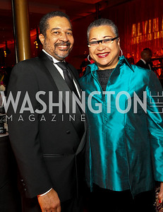 Wendell and Marie Johns. Alvin Ailey Gala. The Kennedy Center. February 2, 2010. photos by Tony Powell