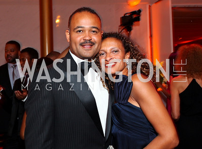 Ben and Lori Soto. Alvin Ailey Gala. The Kennedy Center. February 2, 2010. photos by Tony Powell