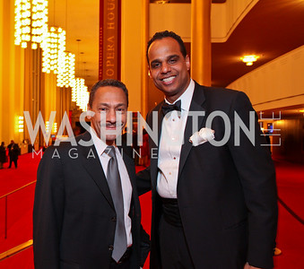 Rep. Mel Watt and Ed Hubbard. Alvin Ailey Gala. The Kennedy Center. February 2, 2010. photos by Tony Powell