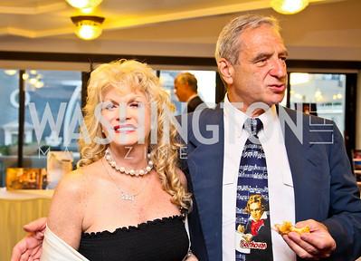 Photo by Tony Powell. American Cancer Society's Frank Sinatra Night. Press Club. June 12, 2010. Zelma Berger, H. David Meyers
