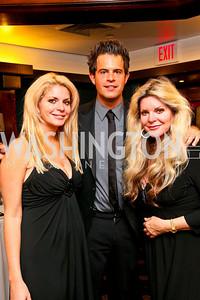 Photo by Tony Powell. American Cancer Society's Frank Sinatra Night. Press Club. June 12, 2010. Ashley, Charles, and Maureen Agron