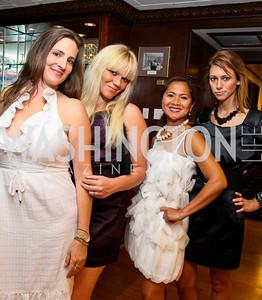Photo by Tony Powell. American Cancer Society's Frank Sinatra Night. Press Club. June 12, 2010. Laura Niswander, Alicia Lewis, Liza Adamski, Kelly Ann Collins