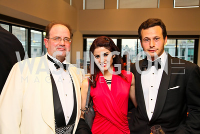 Photo by Tony Powell. American Cancer Society's Frank Sinatra Night. Press Club. June 12, 2010. Skip Keats, Sara Nayeem, Moshe Mosbacher