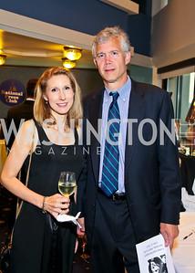 Photo by Tony Powell. American Cancer Society's Frank Sinatra Night. Press Club. June 12, 2010. Teresa Klein, Bob Ludwig