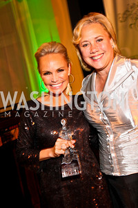 Photo by Tony Powell. Kristin Chenoweth, Senator Mary Landrieu. Angels in Adoption Gala. Reagan Building. October 6, 2010