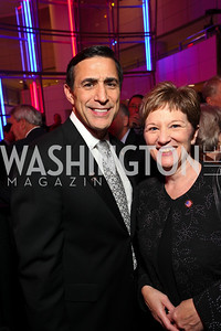 Darrell Issa and Mary Pritschau. Photo by Tony Powell. 6th Annual Armed Forces Foundation Gala. Ronald Reagan Building. March 3, 2010