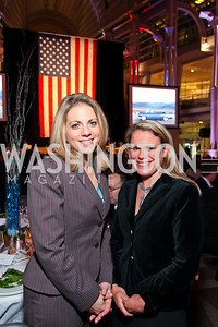Jessica Weinstein and Boeing's Susan Lindahl. Photo by Tony Powell. 6th Annual Armed Forces Foundation Gala. Ronald Reagan Building. March 3, 2010