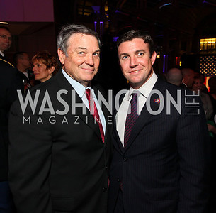 Fmr. Rep. Duncan L. Hunter and Rep. Duncan D. Hunter. Photo by Tony Powell. 6th Annual Armed Forces Foundation Gala. Ronald Reagan Building. March 3, 2010.
