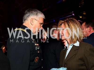 General George Casey and Rep. Marcia Blackburn. Photo by Tony Powell. 6th Annual Armed Forces Foundation Gala. Ronald Reagan Building. March 3, 2010