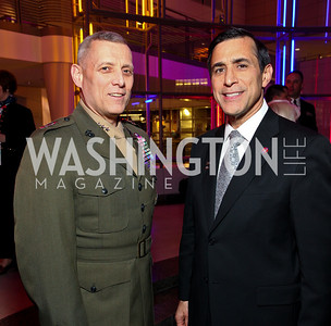 General John Paxton and Rep. Darrell Issa. Photo by Tony Powell. 6th Annual Armed Forces Foundation Gala. Ronald Reagan Building. March 3, 2010