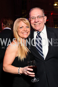 Patricia Driscoll and Rep. Jim Saxton. Photo by Tony Powell. 6th Annual Armed Forces Foundation Gala. Ronald Reagan Building. March 3, 2010