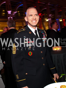 Command Sergeant Major David Martel. Photo by Tony Powell. 6th Annual Armed Forces Foundation Gala. Ronald Reagan Building. March 3, 2010