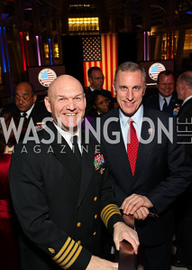 Navy Medical Center Deputy Commander Daniel Zinder and Rep. Tim Murphy. Photo by Tony Powell. 6th Annual Armed Forces Foundation Gala. Ronald Reagan Building. March 3, 2010