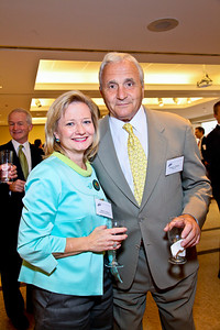 Photo by Tony Powell. Arthur Brooks Book Party. AEI Headquarters. June 9, 2010. Shelley Stewart, Anthony Principi
