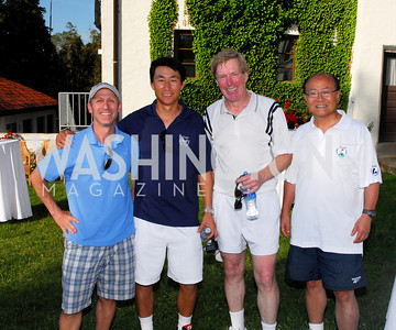 Kyle Samperton, May 16, 2010, Arts for the Aging Tennis Tournament Reception, Ivan Knaver, Chi Wan Kim, Bob Ryan, Sang Joo Kim