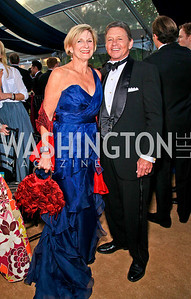 Sally and Chip Akridge. Photo by Tony Powell. Ball on the Mall. May 8, 2010