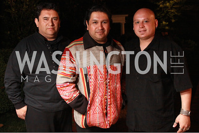 Marco Mallea, Andres Mallea, Cristhian Cardoso of the band Mystics Warriors