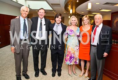 Photo by Tony Powell. Ben & Quinn Bradlee book party. The Washington Post Offices. June 7, 2010. Bo Jones, Don Graham, Quinn Bradlee, Sally Quinn, Katharine Weymouth, Ben Bradlee