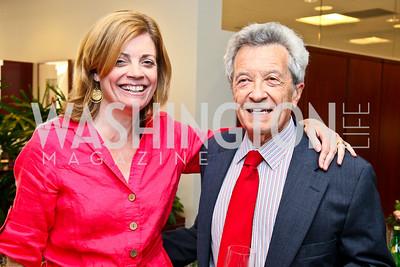 Photo by Tony Powell. Ben & Quinn Bradlee book party. The Washington Post Offices. June 7, 2010. Mary Jordan, Jerry Rafshoon