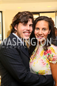 Photo by Tony Powell. Ben & Quinn Bradlee book party. The Washington Post Offices. June 7, 2010. Quinn Bradlee, Pary Williamson