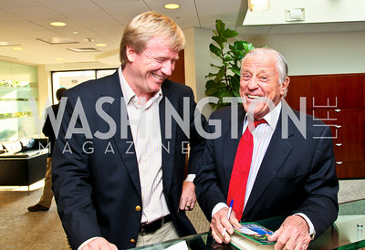 Photo by Tony Powell. Ben & Quinn Bradlee book party. The Washington Post Offices. June 7, 2010. Angus Yates, Ben Bradlee