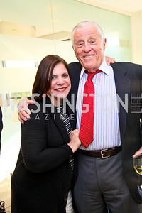 Photo by Tony Powell. Ben & Quinn Bradlee book party. The Washington Post Offices. June 7, 2010. Rhoda Glickman, Ben Bradlee