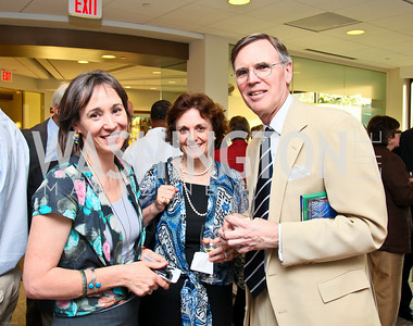 Photo by Tony Powell. Ben & Quinn Bradlee book party. The Washington Post Offices. June 7, 2010. Frances Sellers, Sally Bedell Smith, Stephen Smith