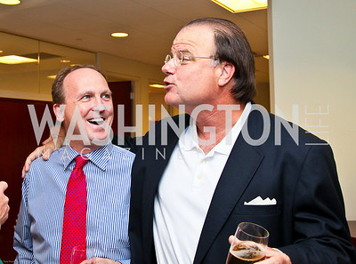 Photo by Tony Powell. Ben & Quinn Bradlee book party. The Washington Post Offices. June 7, 2010. Kevin Sullivan, Mit Spears