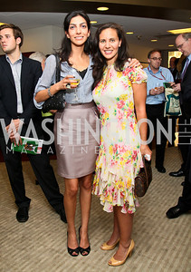 Photo by Tony Powell. Ben & Quinn Bradlee book party. The Washington Post Offices. June 7, 2010. Pary Williamson
