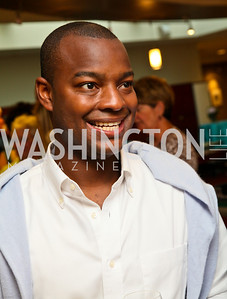 Photo by Tony Powell. Ben & Quinn Bradlee book party. The Washington Post Offices. June 7, 2010. Ebs Burnough