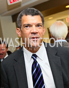 Photo by Tony Powell. Ben & Quinn Bradlee book party. The Washington Post Offices. June 7, 2010. NBC News Senior Vice President Mark Whitaker