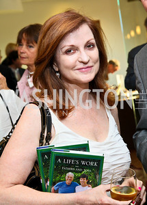 Photo by Tony Powell. Ben & Quinn Bradlee book party. The Washington Post Offices. June 7, 2010. Maureen Dowd