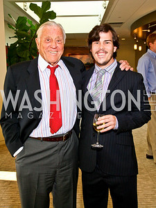 Photo by Tony Powell. Ben & Quinn Bradlee book party. The Washington Post Offices. June 7, 2010. Ben and Quinn Bradlee