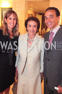 Isabel Ernst Lucky Rooseveld Ricardo Ernst. Book party for Eric Haseltine hosted by Arturo and Hilda Brillembourg. Photos by Alfredo Flores