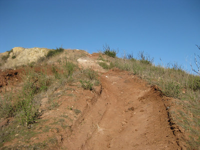 The old ridge line trail