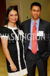Indira Sharma, Heman Sharma, CNMC Egyptian Embassy Reception, November 15, 2010, Kyle Samperton
