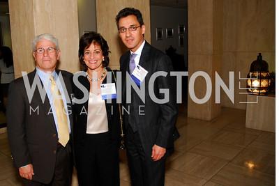 Skip Davis, Susan Davis, Masud Akbar, CNMC Egyptian Embassy Reception, November 15, 2010, Kyle Samperton