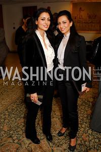 Rouzita Vahhabaghai, Bila Vahhabaghai, CNMC Egyptian Embassy Reception, November 15, 2010, Kyle Samperton