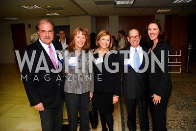 Sandy Ain, Miriam Ain, Rita Corwin, Carl Spatz, Pam King Sams, CNMC Egyptian Embassy Reception, November 15, 2010, Kyle Samperton