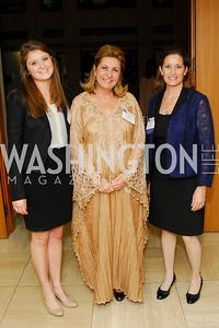 Kate Raber, Suzy Shoukry, Blair Raber, CNMC Egyptian Embassy Reception, November 15, 2010, Kyle Samperton