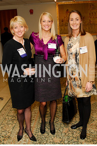 Kathie Williams, Jessi Frend, Grace Weisser, CNMC Egyptian Embassy Reception, November 15, 2010, Kyle Samperton