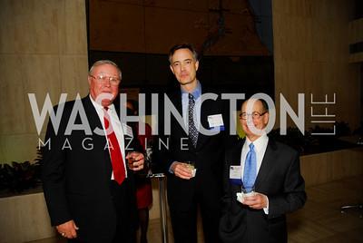 Hugh Eagleton, Thomas Hesselbrock, Carl Spatz, CNMC Egyptian Embassy Reception, November 15, 2010, Kyle Samperton