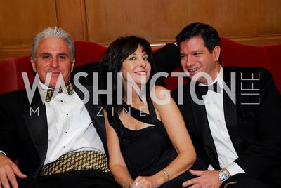 Dave Berkey, Liza Sara, Dan Summa, November 20, 2010, Capital City Ball, Kyle Samperton