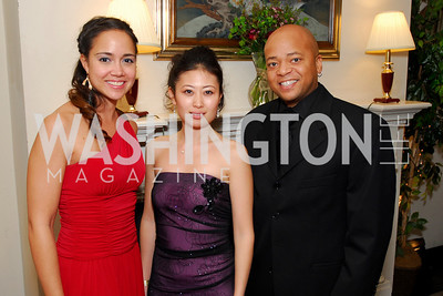 Lani Huling, Emi Morohashi, Billy Kearney, November 20, 2010, Capital City Ball, Kyle Samperton