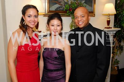 Lani Huling, Emi Morohashi, Billy Kearney, November 20, 2010, Capital City Ball, Kyle Samperton