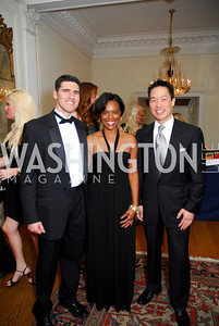 Bradley Myles, Kevonne Small, Richard Lui, November 20, 2010, Capital City Ball, Kyle Samperton